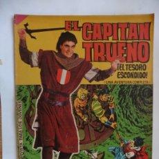Tebeos: CAPITAN TRUENO GIGANTE Nº 17 ORIGINAL. Lote 179381437