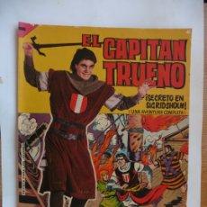 Tebeos: CAPITAN TRUENO GIGANTE Nº 27 ORIGINAL. Lote 179381518