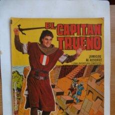 Tebeos: CAPITAN TRUENO GIGANTE Nº 35 ORIGINAL. Lote 179381667