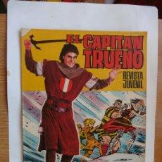 Tebeos: CAPITAN TRUENO GIGANTE Nº 48 ORIGINAL. Lote 179381787