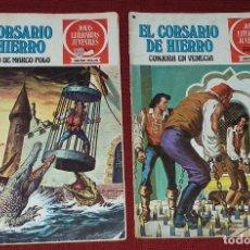 Tebeos: 2 COMICS DE EL CORSARIO DE HIERRO. Lote 179516512