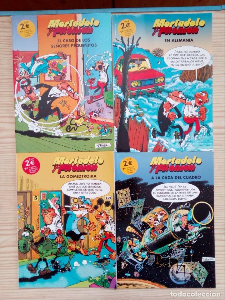 4 COMIC MORTADELO Y FILEMON (Tebeos y Comics - Bruguera - Mortadelo)