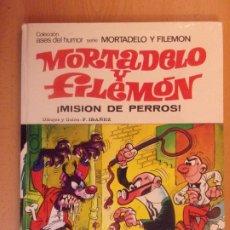 Tebeos: MORTADELO Y FILEMON. ¡MISION DE PERROS! / BRUGUERA. 1978. Lote 179533390