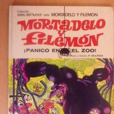 Tebeos: MORTADELO Y FILEMON ¡PANICO EN EL ZOO! / 1975. BRUGUERA.. Lote 179534216