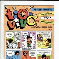 Tebeos: TIO VIVO N,24 EDITORIAL BURGUERA S.A.1986 AÑO II, 3 EPOCA. Lote 179950093
