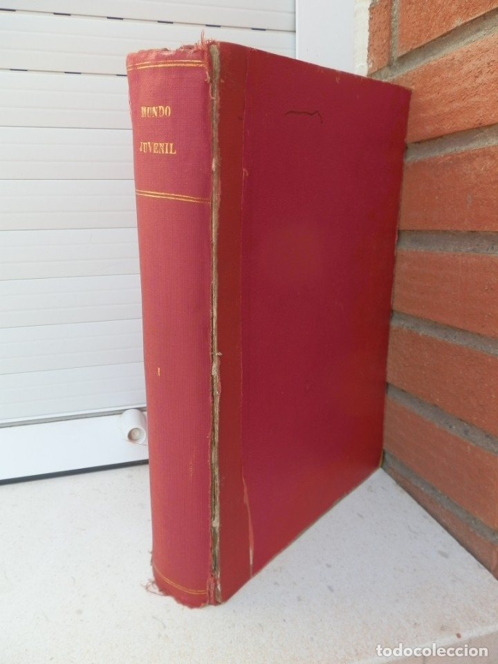 Tebeos: 57 MUNDO JUVENIL. LOS AMIGOS D MARISOL. COLECCIÓN ENCUADERNADA DEL 1 AL 57. EDITORIAL BRUGUERA 1963. - Foto 2 - 180005412