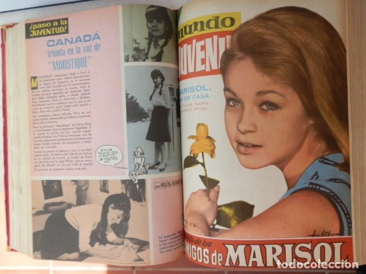 Tebeos: 57 MUNDO JUVENIL. LOS AMIGOS D MARISOL. COLECCIÓN ENCUADERNADA DEL 1 AL 57. EDITORIAL BRUGUERA 1963. - Foto 5 - 180005412