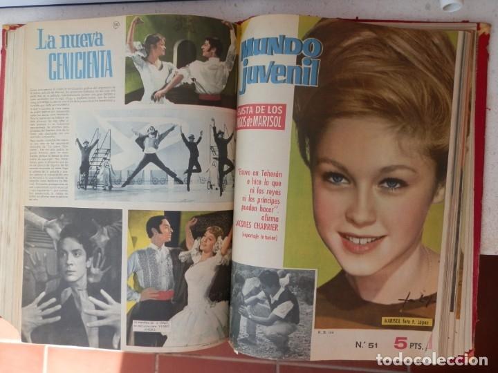 Tebeos: 57 MUNDO JUVENIL. LOS AMIGOS D MARISOL. COLECCIÓN ENCUADERNADA DEL 1 AL 57. EDITORIAL BRUGUERA 1963. - Foto 6 - 180005412
