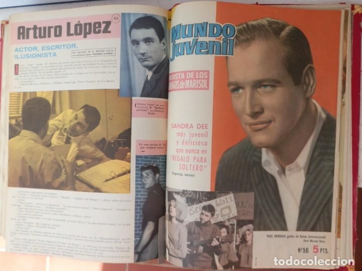 Tebeos: 57 MUNDO JUVENIL. LOS AMIGOS D MARISOL. COLECCIÓN ENCUADERNADA DEL 1 AL 57. EDITORIAL BRUGUERA 1963. - Foto 7 - 180005412