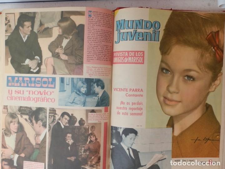 Tebeos: 57 MUNDO JUVENIL. LOS AMIGOS D MARISOL. COLECCIÓN ENCUADERNADA DEL 1 AL 57. EDITORIAL BRUGUERA 1963. - Foto 8 - 180005412