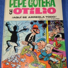 Tebeos: AQUÍ SE ARREGLA TODO - PEPE GOTERA Y OTILIO - ASES DEL HUMOR - BRUGUERA (1973). Lote 180029538