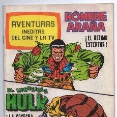 Tebeos: 1981 HOMBRE ARAÑA # 13 SPIDER MAN EL INCREIBLE HULK LA MASA BRUGUERA STAN LEE MARVEL 52 PAG EXCELENT. Lote 180044383
