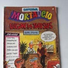 Tebeos: MORTADELO 180 - ESPECIAL LLEGAN LOS TURISTAS - CON AVENTURA DE RIC HOCHET. Lote 180074585