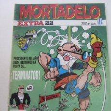 Tebeos: MORTADELO EXTRA Nº 22 - EDICIONES B 1988 CS200. Lote 180075705