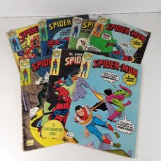 Tebeos: COMICS SPIDER-MAN. 7 EJEMPLARES. MARVEL. EDITORIAL BRUGUERA. BARCELONA. 1978.. Lote 180078188
