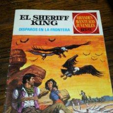 Tebeos: EL SHERIFF KING, DISPAROS EN LA FRONTERA- GRANDES AVENTURAS JUVENILES, ED. BRUGUERA N°2.. Lote 180090468