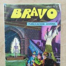 Tebeos: BRAVO, INSPECTOR DAN - AÑO I, Nº 2, MORIR CUESTA TRES PENIQUES - ED. BRUGUERA. Lote 180096357