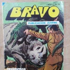 Tebeos: BRAVO, INSPECTOR DAN - AÑO I, Nº 70, PELIGRO EN LA CIUDAD - ED. BRUGUERA. Lote 180097652