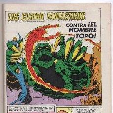 Tebeos: 1981 HOMBRE ARAÑA # 15 EL DUENDE VERDE ATACA LOS 4 FANTASTICOS CONTRA HOMBRE TOPO FANTASTIC FOUR 52 . Lote 180111762