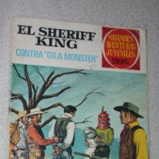 Tebeos: SHERIFF KING Nº 24 :CONTRA GILA MONSTER. Lote 180127356