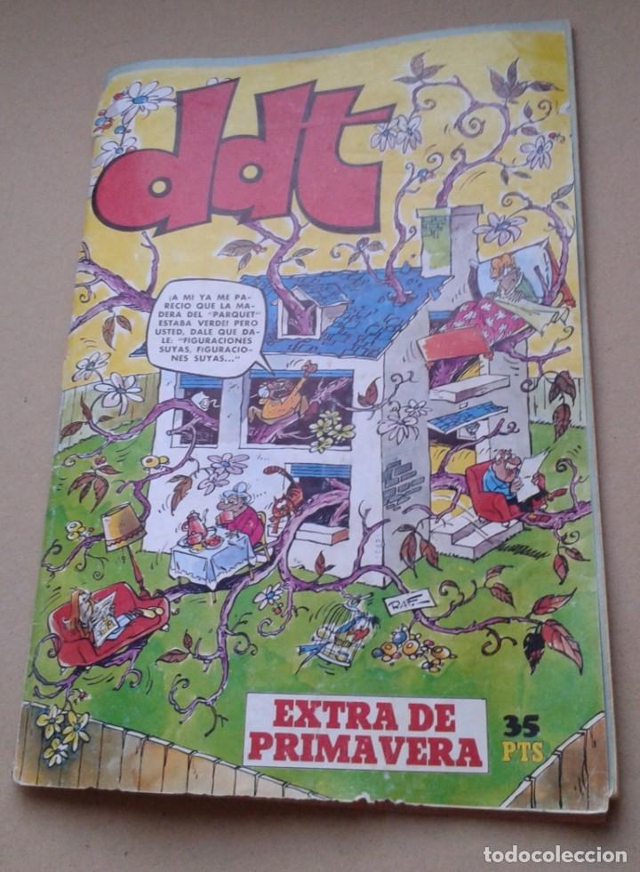 DDT EXTRA DE PRIMAVERA AÑO 1975 RARO 35 PTS ED BRUGUERA (Tebeos y Comics - Bruguera - DDT)