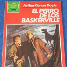Tebeos: JOYAS LITERARIAS JUVENILES Nº 247 - EL PERRO DE LOS BASKERVILLE - CONAN DOYLE - BRUGUERA. Lote 180145368