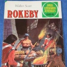 Tebeos: JOYAS LITERARIAS JUVENILES Nº 231 - ROKEBY - WALTER SCOTT - BRUGUERA. Lote 180145491