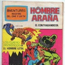 Tebeos: 1981 HOMBRE ARAÑA # 17 SPIDER MAN 4 FANTASTICOS BRUGUERA LEE & KIRBY MARVEL 52 PAG EXCELENTE. Lote 180147877