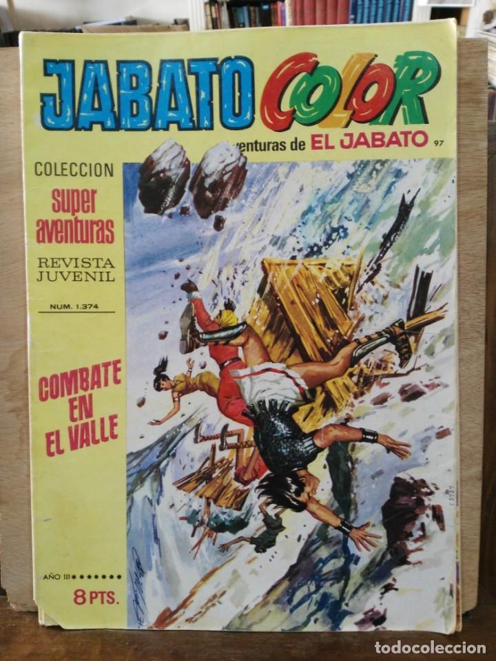 JABATO COLOR - AÑO III Nº 97 - ED. BRUGERA (Tebeos y Comics - Bruguera - Jabato)