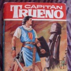 Tebeos: CAPITÁN TRUENO LA ISLA DE RAPANUI 50 DIBUJOS DE AMBROS COLEC HEROES BRUGUERA 1ª EDICION AÑO 1964. Lote 180171421
