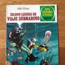 Tebeos: JOYAS LITERARIAS JUVENILES JULIO VERNE 20.000 LEGUAS DE VIAJE SUBMARINO NÚMERO 4. Lote 180188292