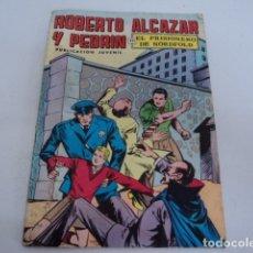 Tebeos: TEBEO ANTIGUO ROBERTO ALCAZAR Y PEDRIN EL PRISIONERO DE NORDFOLD NUMERO 2. Lote 180243220