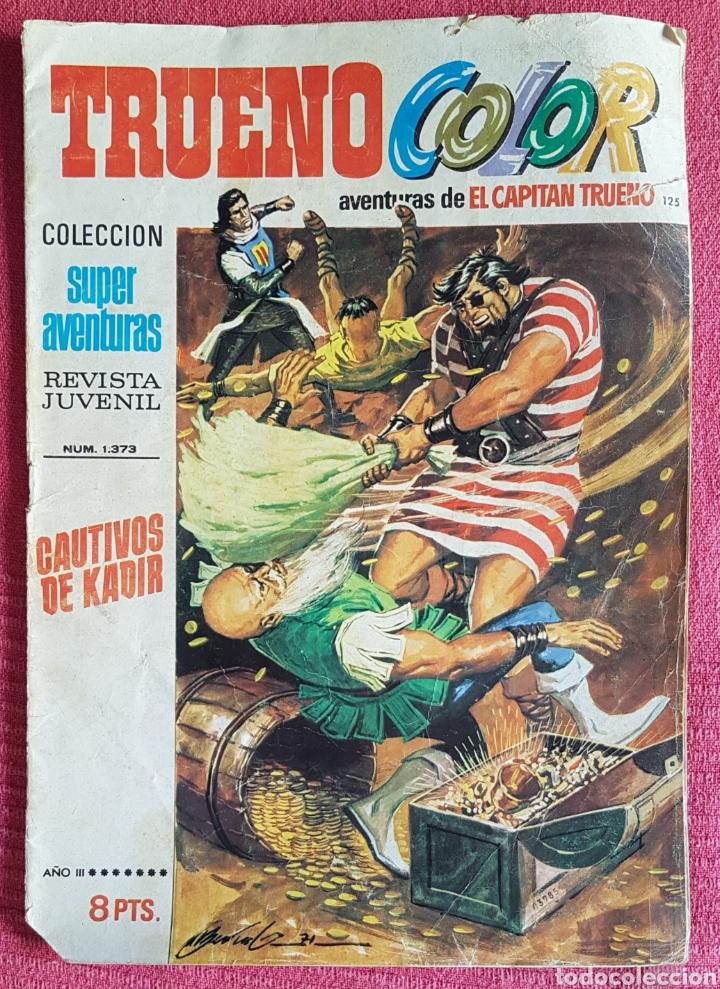 Tebeos: Lote 8 comics (7 Jabato Color) + (1 Trueno Color). - Foto 2 - 180249841