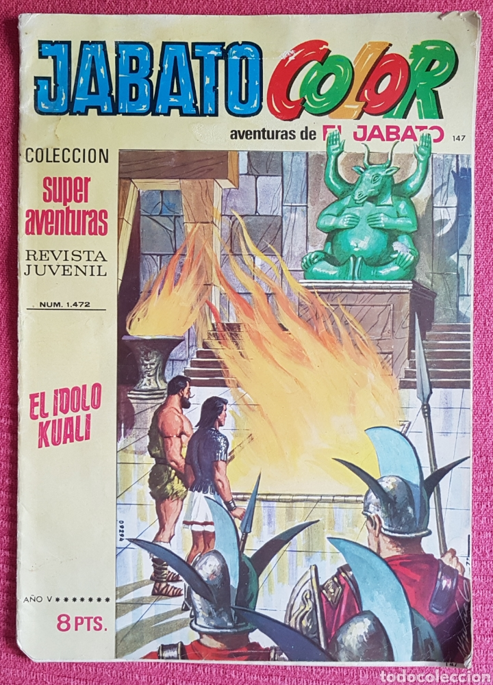 Tebeos: Lote 8 comics (7 Jabato Color) + (1 Trueno Color). - Foto 4 - 180249841