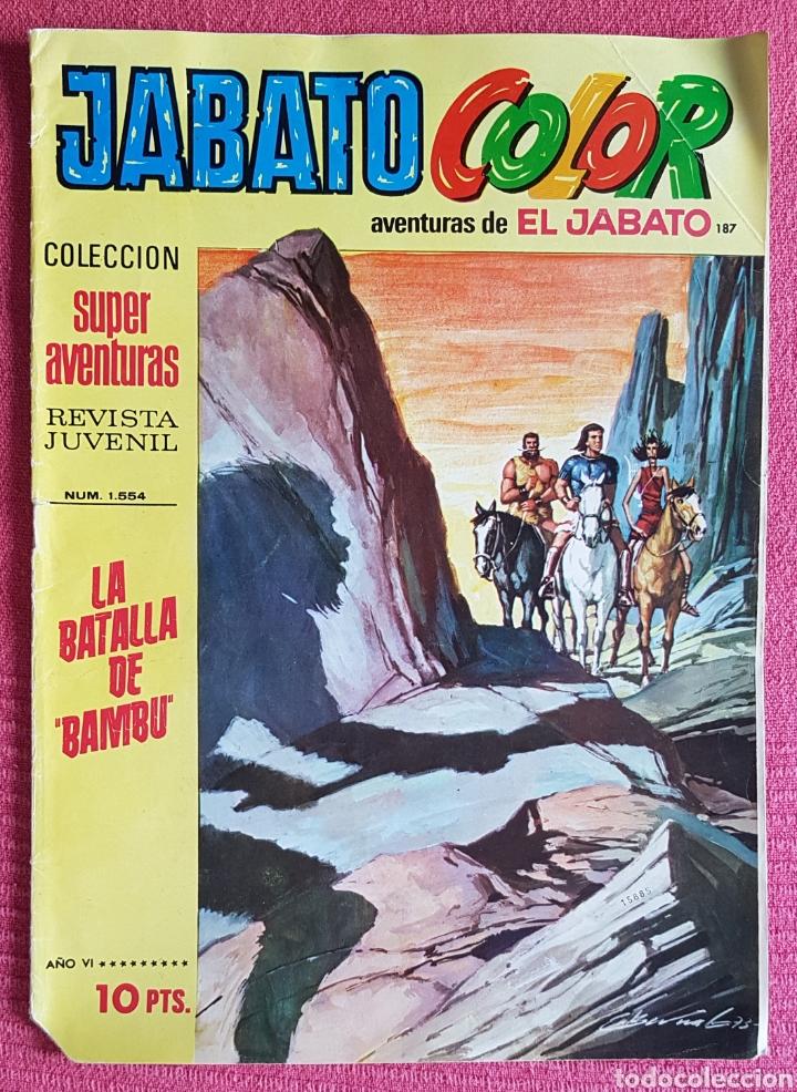 Tebeos: Lote 8 comics (7 Jabato Color) + (1 Trueno Color). - Foto 5 - 180249841