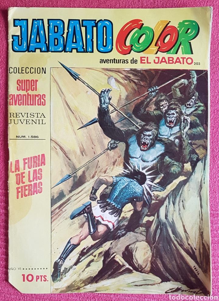Tebeos: Lote 8 comics (7 Jabato Color) + (1 Trueno Color). - Foto 6 - 180249841