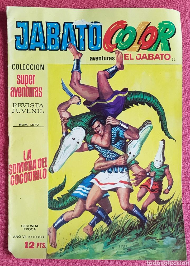 Tebeos: Lote 8 comics (7 Jabato Color) + (1 Trueno Color). - Foto 8 - 180249841