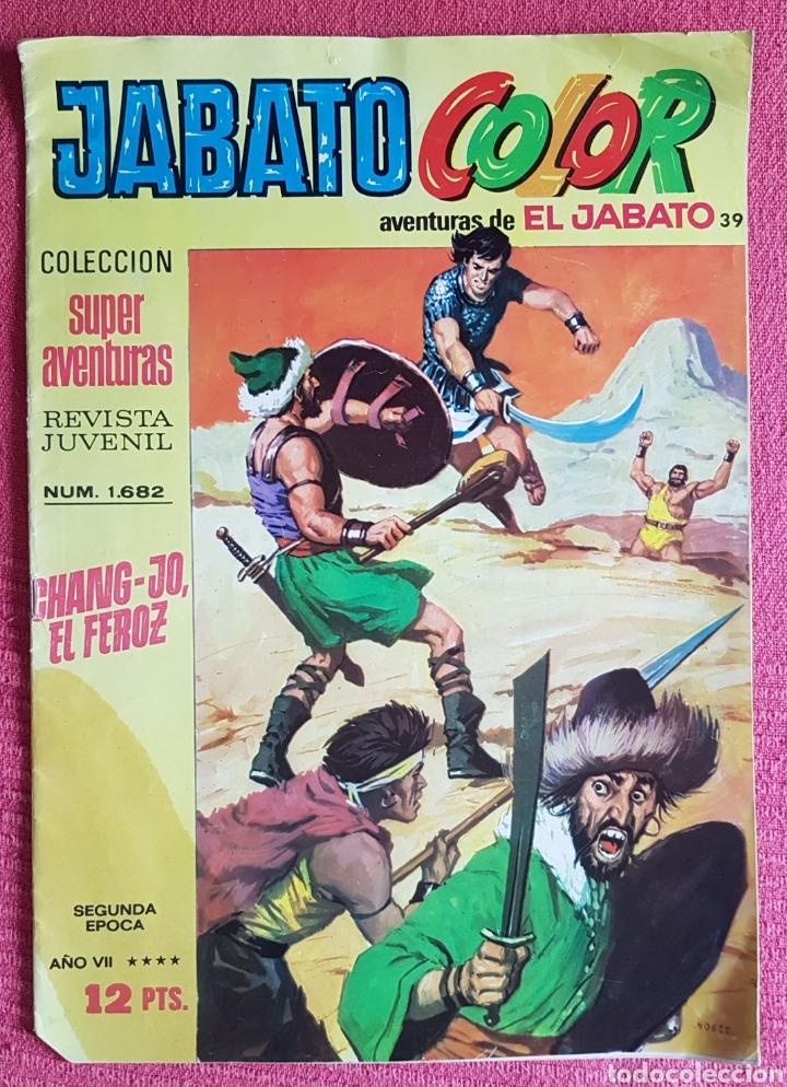 Tebeos: Lote 8 comics (7 Jabato Color) + (1 Trueno Color). - Foto 9 - 180249841