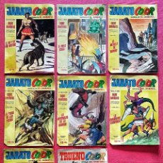 Tebeos: LOTE 8 COMICS (7 JABATO COLOR) + (1 TRUENO COLOR).. Lote 180249841