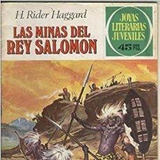 Tebeos: JOYAS LITERARIAS LAS MINAS DEL REY SALOMON Nº 156. Lote 180272882