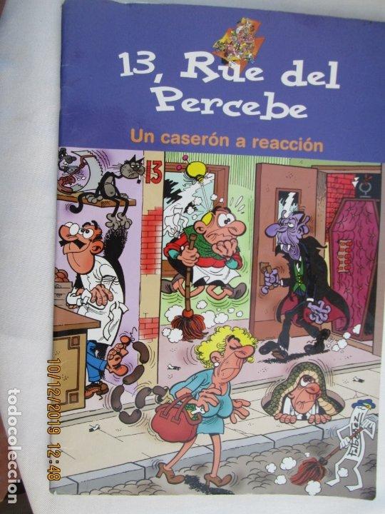 13 RUE DEL PERCEBE , UN CASERON A REACCION -2004 (Tebeos y Comics - Bruguera - Otros)