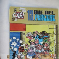 Tebeos: 13 , RUE DE PERCEBE , Nº 40 COLECCION OLE 2ª EDICION 1999. Lote 180287085