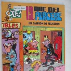 Tebeos: 13 RUE DEL PERCEBE , UN CASERON DE PELICULON Nº 8- 1999. Lote 180288075