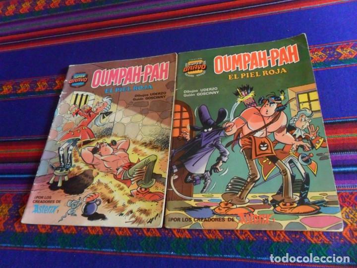 COLECCIÓN SUPER BRAVO OUMPAH-PAH EL PIEL ROJA NºS 4 Y 5. BRUGUERA 1ª ED 1982. 175 PTS. (Tebeos y Comics - Bruguera - Bravo)