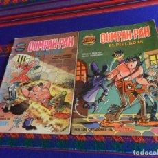 Tebeos: COLECCIÓN SUPER BRAVO OUMPAH-PAH EL PIEL ROJA NºS 4 Y 5. BRUGUERA 1ª ED 1982. 175 PTS.. Lote 180325436