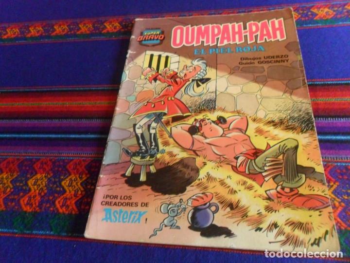 Tebeos: COLECCIÓN SUPER BRAVO OUMPAH-PAH EL PIEL ROJA NºS 4 Y 5. BRUGUERA 1ª ED 1982. 175 PTS. - Foto 3 - 180325436