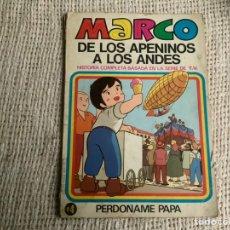 Tebeos: MARCO DE LOS APENINOS A LOS ANDES Nº 4 -EDITA : BRUGUERA. Lote 180348485