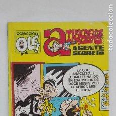 Tebeos: ALBUM COLECCIÓN OLE : ANACLETO , AGENTE SECRETO. 1988. Lote 180402841
