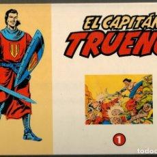 Tebeos: EL CAPITÁN TRUENO - FACSIMIL EL PERIÓDICO - 32 TEBEOS. Lote 180403100