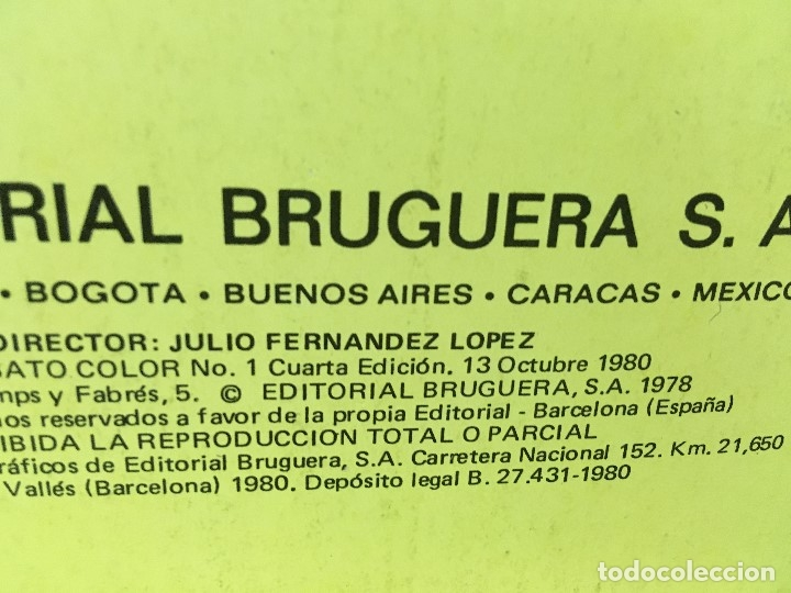 Tebeos: LOTE DE 8 CÓMICS - ÁLBUM COLOR DE BRUGUERA - EL JABATO Nº 1 2 3 4 6 7 8 10 - Foto 4 - 180440280